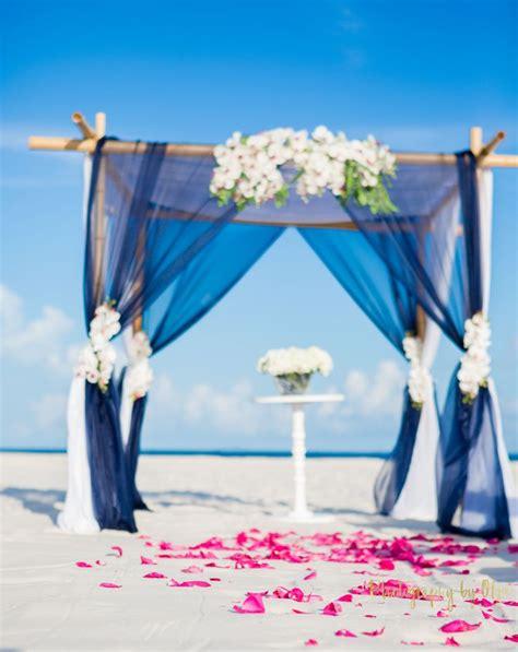 Wedding Arch Navy by Navy Wedding Arch Nautical Wedding Ceremony Decor