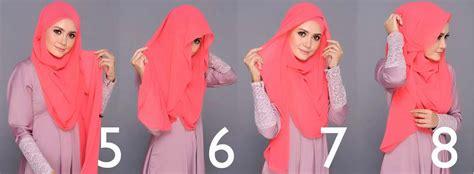tutorial long pashmina modern hijab tutorial for long shawl hijabiworld