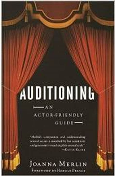 auditioning for actor programs books books