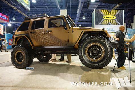 linex jeep 2015 sema 3d line x jeep jk wrangler unlimited