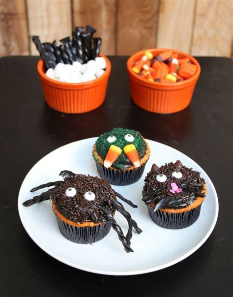 halloween cupcakes images  pinterest