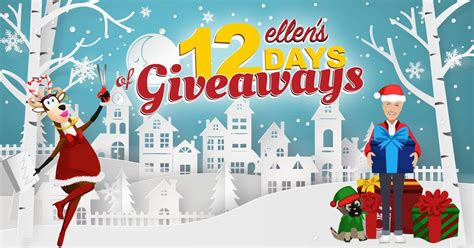 ellen 12 days of christmas 2018 gifts all secret codes and links for s 12 days of giveaways 2017