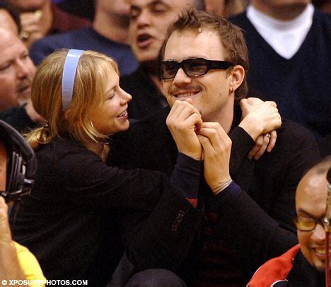 Heath Ledger And Williams Might Be Married by Is It Shutters For Williams After Heath