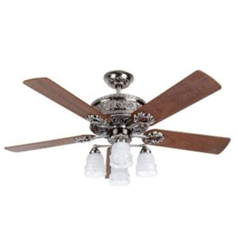Discontinued Ceiling Fans by Hton Bay Hyde Park Ii 52 In Pewter Ceiling Fan