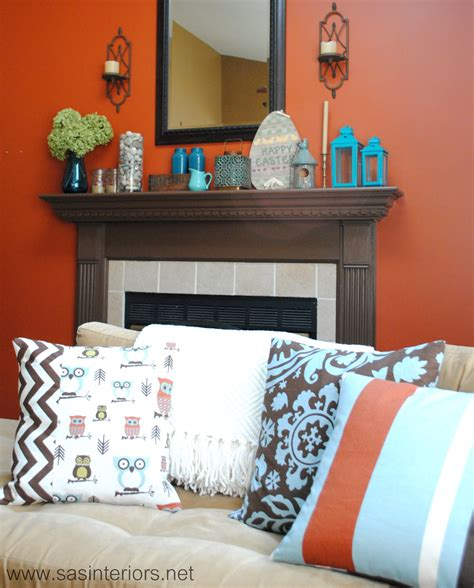 sweet stylish brown and turquoise bedroom ideas for kids spring mantel with shades of turquoise jenna burger