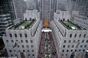 pool city christmas trees history of the rockefeller center tree daily mail