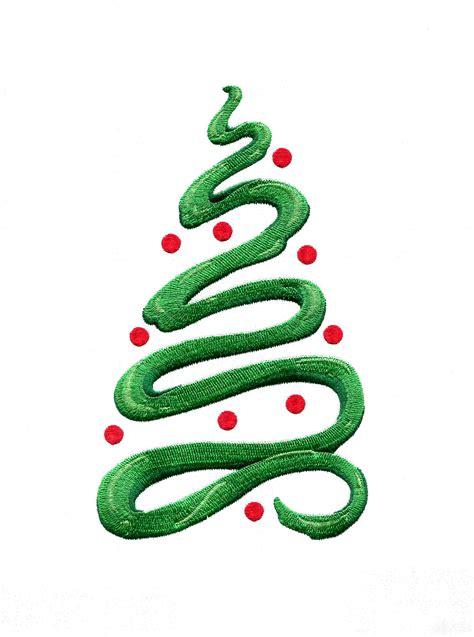 ribbon christmas tree clipart clipartxtras