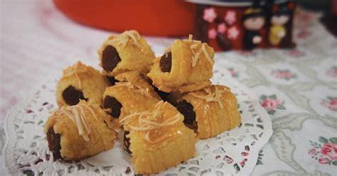 Semprit Nastar Gulung No 170 5 resep kue kering nastar lembut crispy enak enak dan