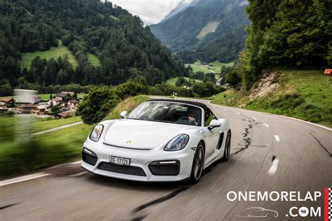 Auto Tieferlegen Wie Tief Schweiz by Kurztest Porsche Boxster Spyder 2015 Onemorelap