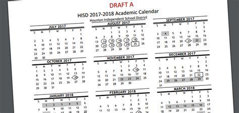 Next Year Calendar Parents Can Vote On Next Year S Hisd School Calendar