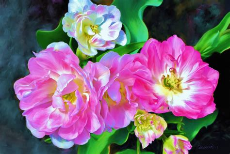 painting of flowers paintings of artists original painting of