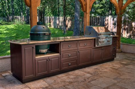 Outdoor Kitchen Furniture Select Outdoor Kitchen Custom Cabinets Traditional Patio Other Metro By Select Outdoor