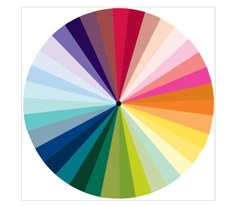 colorful colors color wheel meagan warren weddings