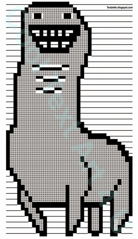 bunchie  llama ascii text art codes cool ascii text art