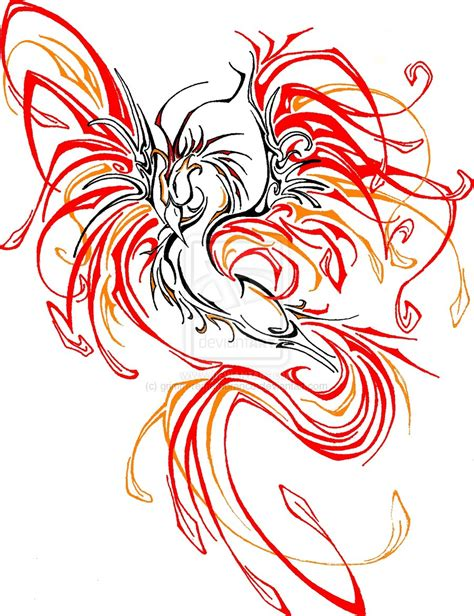 phoenix bird tattoo designs tats on tattoos and bird