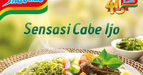 Indomie Goreng Cabe Ijo bebekkecil review indomie goreng cabe ijo