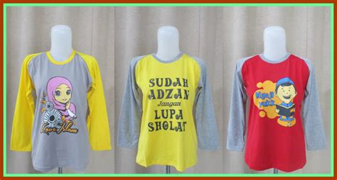 Baju Kaos Abg by Pusat Grosir Kaos Muslim Abg