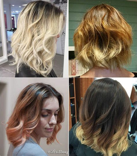 does ombre work with medium layered hair length 90 sensational medium length haircuts for thick hair in 2017