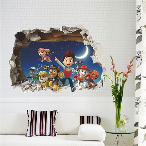 Boys Wall Stickers For Bedrooms aliexpress com buy window cartoon wall stickers for kids