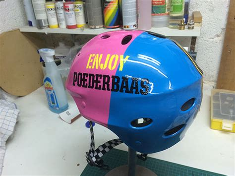 design helm airbrush ruud van rijen airbrush helmet ski wakeboard simon2