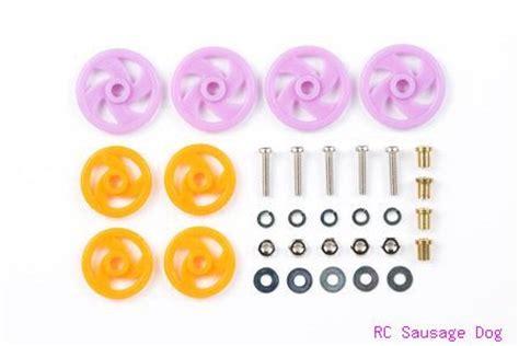 15160 Tamiya Mini4wd 19mm Aluminum Bearing Roller tamiya mini 4wd rollers