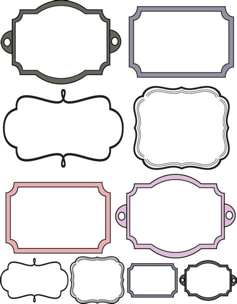 Custom Crops Free Scrapbook Elements Labels More On The Site Art Ed Pinterest White Label Website Templates