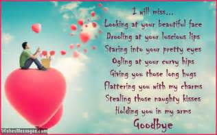 goodbye poems for girlfriend wishesmessages com