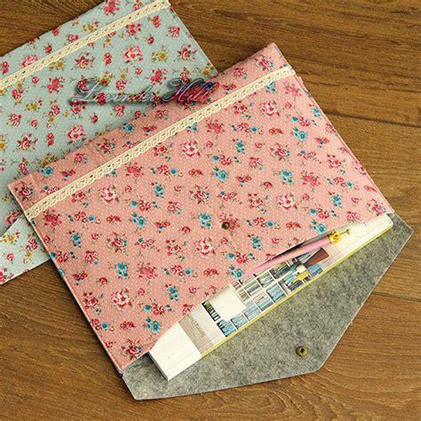 Floral File Folder Big A4 Floral Fabric A4 File Folder Document Wallet Homework