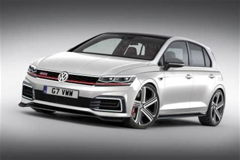 new vw golf gti mk8: on sale in 2019 with big power boost