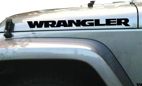 jeep wrangler logo decal jeep wrangler vinyl decal sticker emblem logo graphic x 2