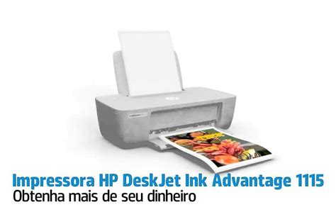 Hp Deskjet Ink Advantage 1115 impressora hp deskjet ink advantage 1115