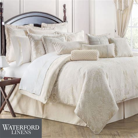 waterford comforters paloma damask comforter bedding by waterford linens