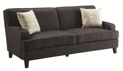 Brown Fabric Sofa Coaster Finley 504751 Brown Fabric Sofa A Sofa