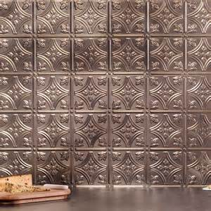decorating charming faux tin fasade backsplash matched with countertop for kitchen decoration ideas