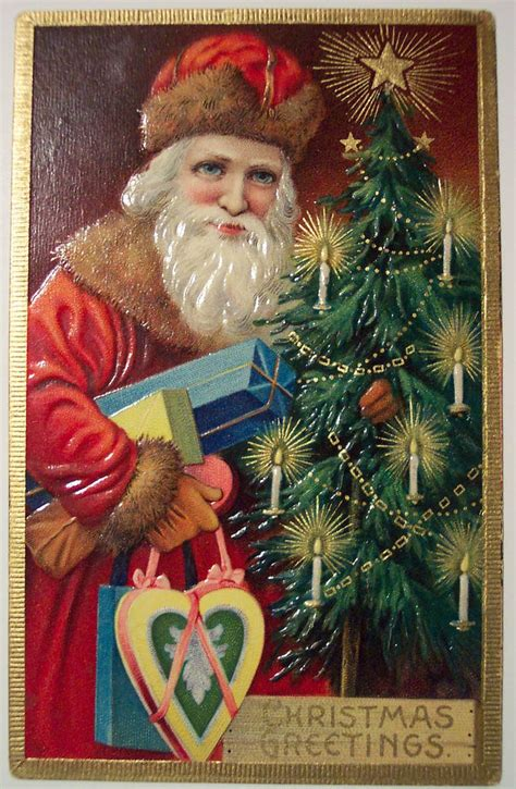 vintage christmas card  wishes