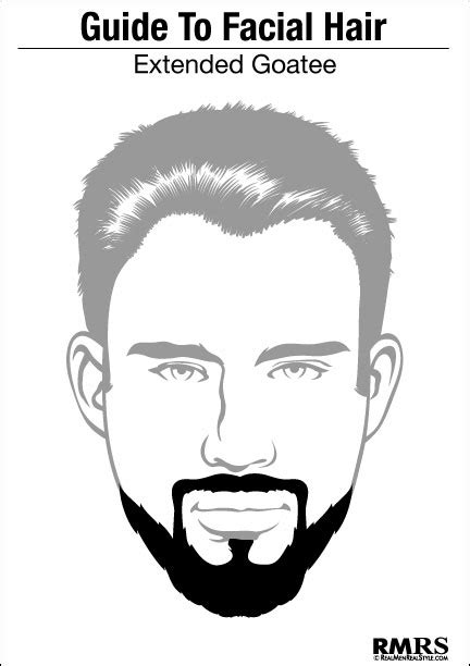 Goatee Templates by The Extended Goatee The Heritage Club Barbershop Salon