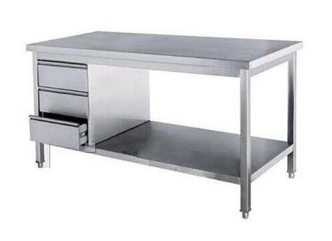 stainless steel table with drawers freestanding commercial stainless steel kitchen work table