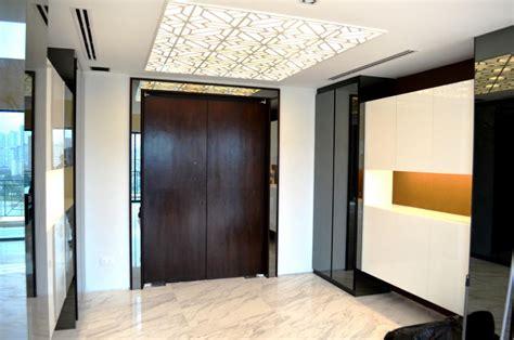 foyer home design modern tanjong rhu penthouse double storey modern oriental