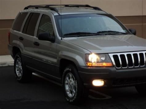 i just bought an 03 grand cherokee from a friend who bought it from a marine that was stationed buy used 2000 99 01 02 03 04 jeep grand cherokee 4x4 laredo one own non smoker no reserve in