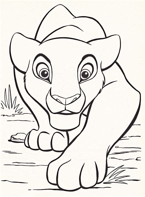 large coloring books disney coloring pages king free large images