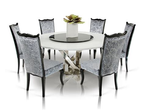 Contemporary Dining Table Set White Modern Dining Table Interior Design