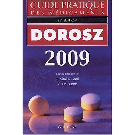 Guide Pratique Des Medicaments French Edition