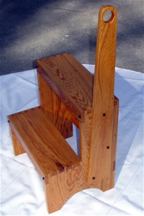 Shaker Step Stool With Handle by Shaker Step Stool Finewoodworking