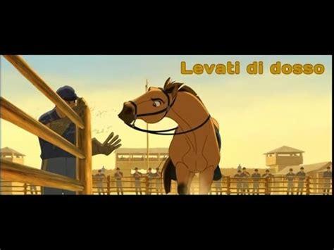spirit testo spirit cavallo selvaggio levati di dosso con testo