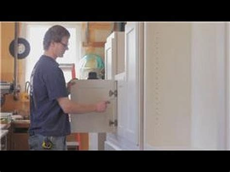 Cabinets 101 : How to Adjust Self closing Kitchen Cabinet