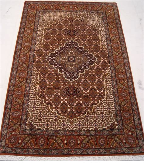 3 x 5 area rugs ivory rust 3 x 5 woven osmanabad wool silk tabriz delightful area rug ebay