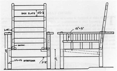 stickley morris chair plans stickley furniture plans pdf pdf woodworking