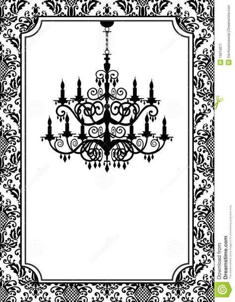 Antique Chandelier Lustre De Cru Image Stock Image 19215871