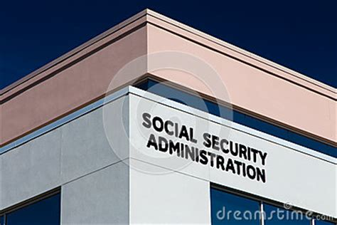 Ssn Office Timings by United States Social Security Office Stock Photo Image