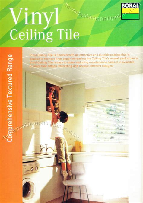 Ceiling Tiles Philippines by Vinyl Ceiling Tile Textured Plasterboard Philippines